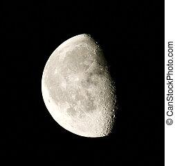 fase, di, luna