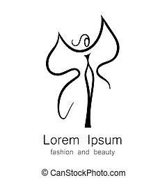 fashion beauty logo template