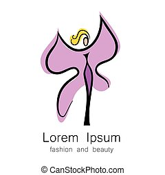 fashion beauty logo template