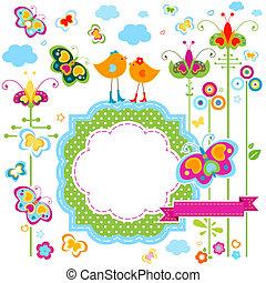 fashion birds card
