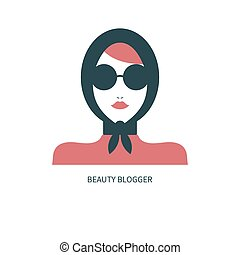 Fashion blogger icon