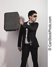 Fashion businessman
