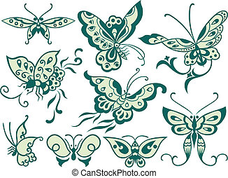 fashion butterfly design