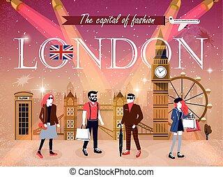 fashion capital London - London fashion capital advertising...