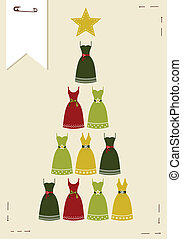 Fashion Christmas tree.