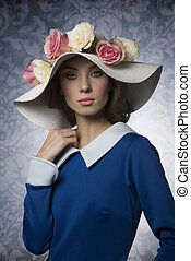 fashion classic spring girl