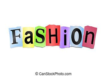 Fashion concept.