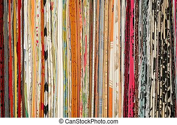 Fashion cotton - Big bunch of hanging fashion cotton...