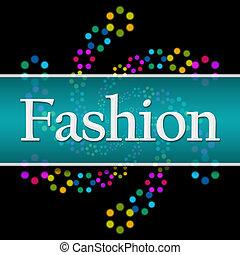 Fashion Dark Colorful Neon