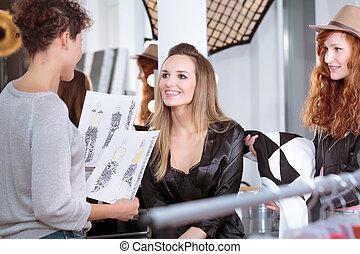 Fashion designer and professional model