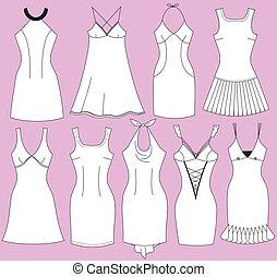 Fashion dresses for woman