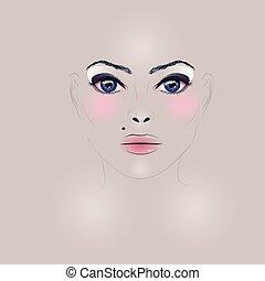 Fashion Girl Face