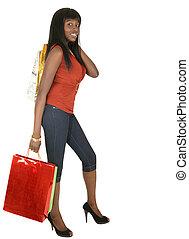 Fashion Girl Go Shopping