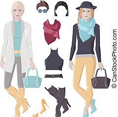 Fashion girls set
