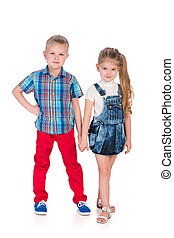 Fashion happy children