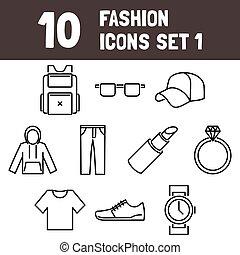 Fashion Icons Set 1 - msidiqf