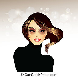 Fashion Girl  - Fashion Illustration-Fashion Girl