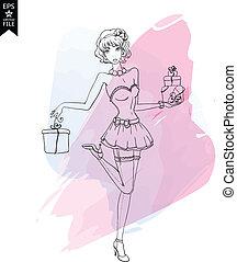 fashion illustration girls