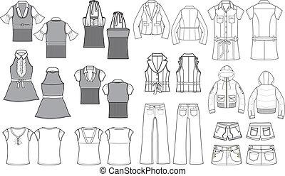 Fashion Item Outline
