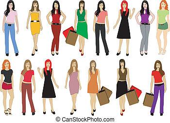 Fashion lady's