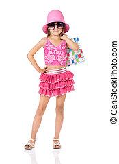 Fashion little girl
