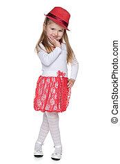 Fashion lovely little girl