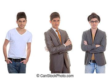 fashion man, different mens styles