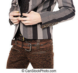 Fashion men pants, a shirt