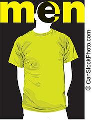 Fashion Men. Vector illustration