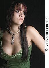 Fashion model - Snobing - Twenty something fashion model...