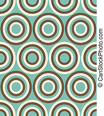 Fashion geometrical pattern in retro colors, seamless vector background. For fashion textile, cloth, backgrounds.