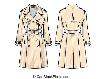 Fashion Plate: Trench