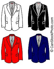 Fashion Plates Jacket - A useful graphic for your fashion...