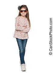 Fashion pretty little girl