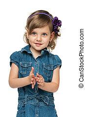 Fashion pretty young girl