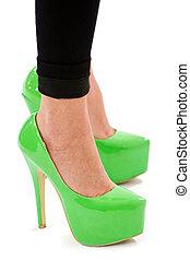 Fashion sexy high heel shoes