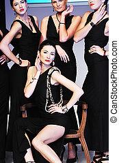 fashion show woman