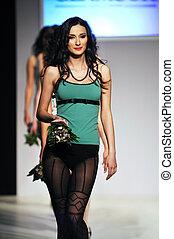 fashion show woman uderwear