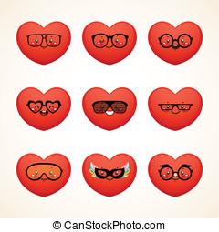 Fashion smiley (heart)