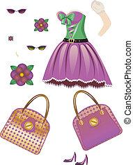 Fashion spring dress