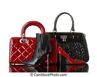fashion - shoes and handbag