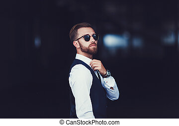 photo of a handsome man