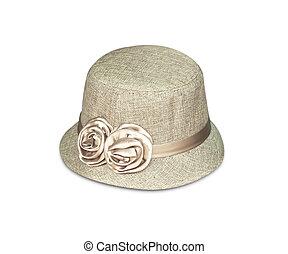 Fashion white hat