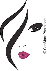 Fashion Woman Silhouette , Vector Illustration, Graphic ...