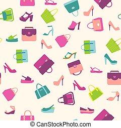 fashion Women bags handbags and summer shoes