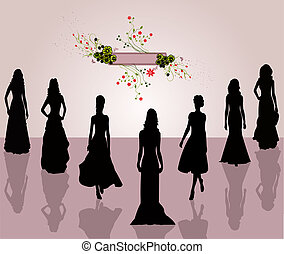 Fashion women- illustration