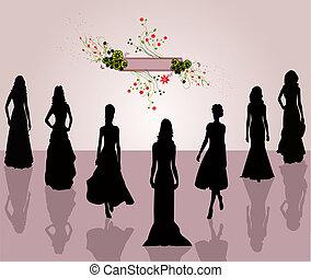 Fashion women- illustration