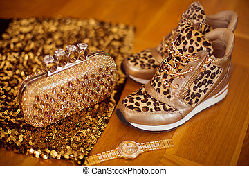 Fashion Womens accessories. Glamour