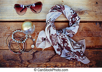 Fashionable female accessories