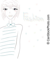 Fashionable Girl.